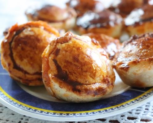 Pastetentascherln mit Huhn